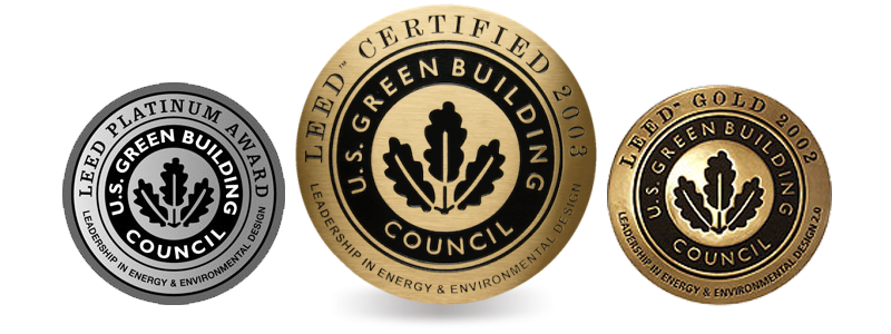 leed certification levels prior to 2006